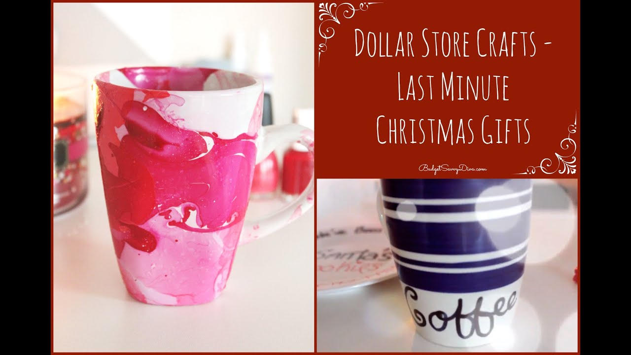 dollar store crafts last minute christmas gifts collab with aprilathena7 youtube. Black Bedroom Furniture Sets. Home Design Ideas