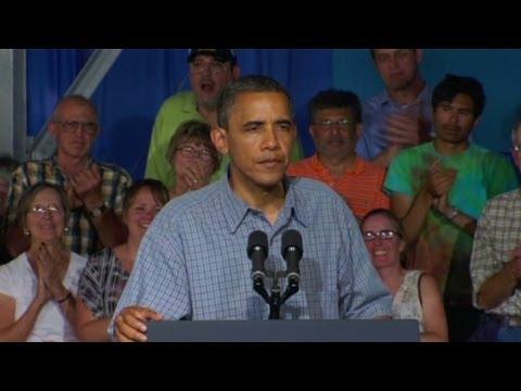 Obama v. Romney in Iowa presidential campaign 2012