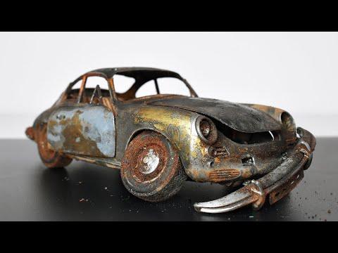 Restoration Abandoned Porsche 356 Model Car