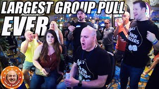 🔴RECORD BREAKING WIN! 🔴$31,000 World's LARGEST Group Pull EVER! 🎰