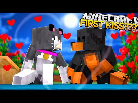 Minecraft - Donut the Dog - DONUT & CASSIES FIRST KISS????