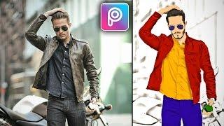 PicsArt Editing Tutorial | How to make Sketch Art in Picsart | Cartoon Yourself HD 😁