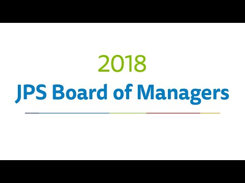 JPS Board Of Managers Meeting for April 12th 2018