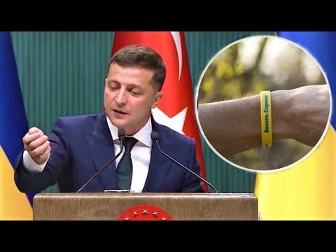 WORTHY OF RESPECT! Yellow Zelensky Bracelets - HOW AND WHEN HE HAS TAKEN THEM!