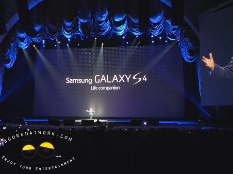 Samsung Galaxy S4 Press Event from Radio City Music Hall