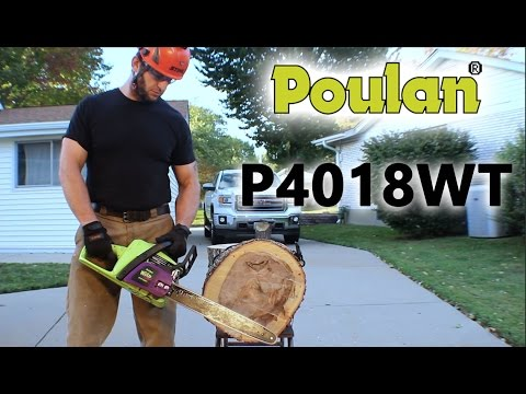 Poulan P4028wt Wild Thing Overview Review Youtube