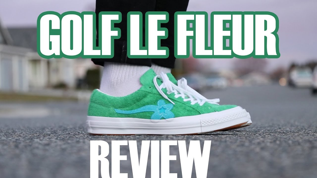 Converse X Golf Le Fleur Review On Feet Peer Review Youtube