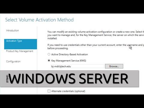 How To Setup KMS (Key Management Server) For Activating Windows 10