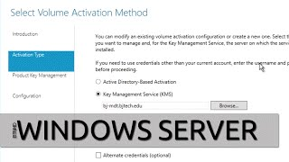 How To Setup KMS (Key Management Server) For Activating Windows 10