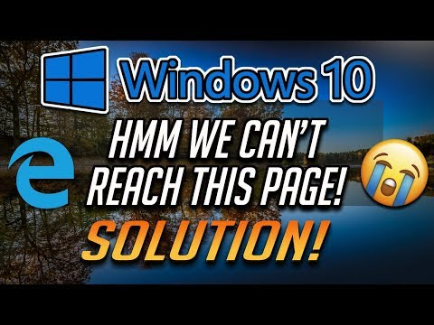 fix-hmm-we-can't-reach-this-page-error-in-microsoft-edge---[2020]