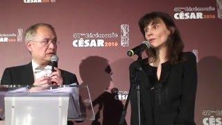 Cécile Ducrocq César 2016 du Meilleur Film de Court Métrage La Contre allée