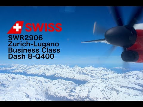 Flight Report: Zurich-Lugano Swiss Business Dash 8-Q400