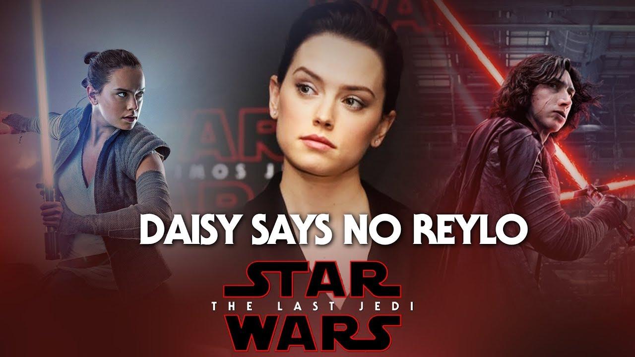 Daisy Ridley Is Not A Fan Of Reylo Youtube