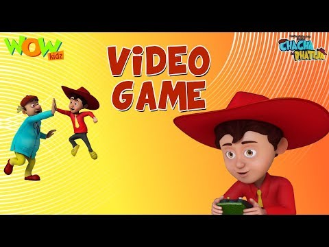 Video Game - Chacha Bhatija - 3D Animation Cartoon for Kids - As seen on Hungama