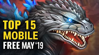 Top 15 FREE Android & iOS Games of May 2019 | whatoplay