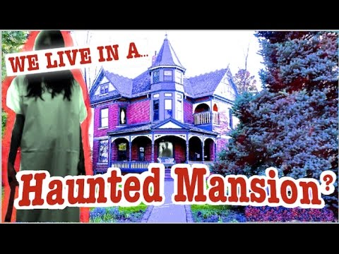 We live in A Haunted House- LADY GHOST In White! Storytime.