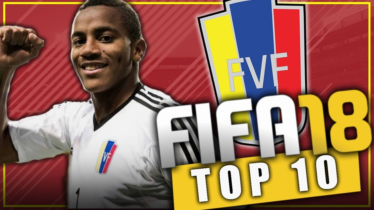 Fifa 18 top 10 jovenes promesas de venezuela modo for Esteban paredes fifa 18