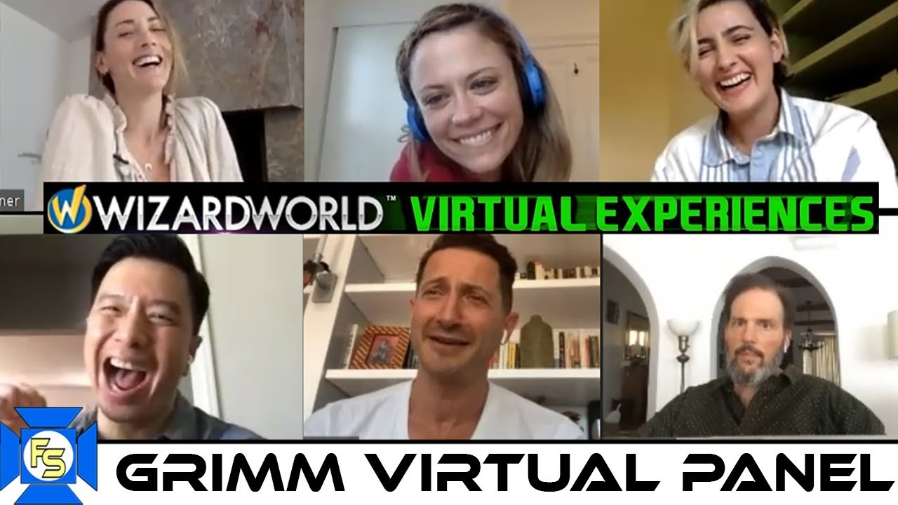 Download GRIMM Cast Panel – Wizard World Virtual Experiences 2020