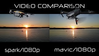 DJI SPARK - MAVIC 1080P VIDEO COMPARISON