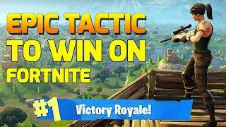 *EPIC* New Fortnite Tactic Discovered!!! (works 99% of time!) | Fortnite Victory Royale Duos