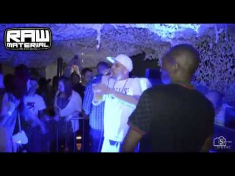 NICKY BLACKMARKET - SHABBA D & FEARLESS - LIVE AT RAW MATERIAL