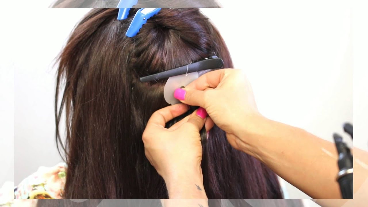 Keratin bond hair extensions application before after youtube keratin bond hair extensions application before after pmusecretfo Images