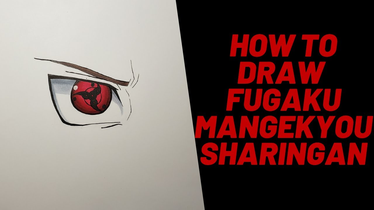 How To Draw Fugaku Uchiha Mangekyou Sharingan Naruto Shippuden Youtube