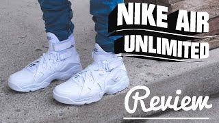 Nike Air Unlimited Triple White Review