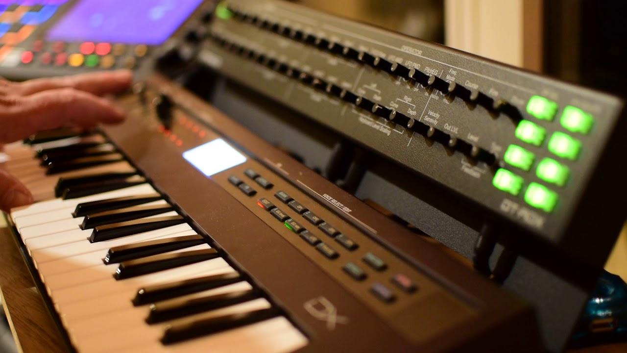 Yamaha Reface DX and Dtronics DT-RDX Midi Controller ( Ambient  Improvisation )