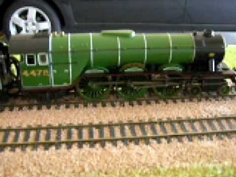 hornby live steam flying scotsman