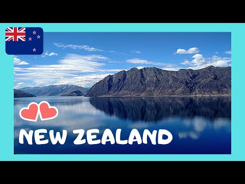 NEW ZEALAND: views of the magnificent LAKE WANAKA (South Island) - YouTube