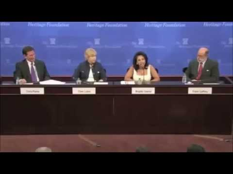Muslim woman asks a question and probably wishes she didn