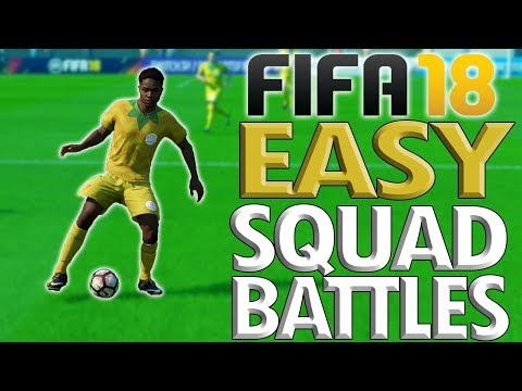 HOW TO WIN EVERY TIME IN FIFA 18 SQUAD BATTLES!!: –OP Move - All Difficulties - BEAT LEGENDARY