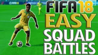 How to win every time in fifa 18 squad battles!!: overpowered move vs. ai – all difficulties