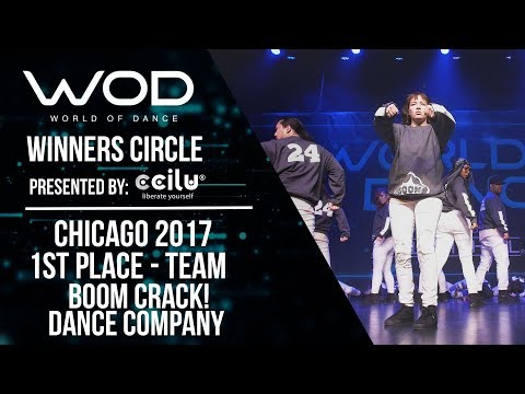 Boom CRACK! Dance Company | 1st Place Team | Winner Circle | World of Dance Chicago 2017 | #WODCHI17
