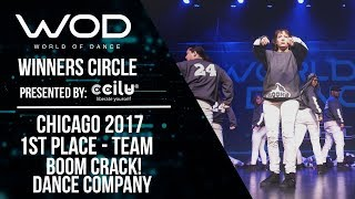 Boom CRACK! Dance Company   1st Place Team   Winner Circle   World of Dance Chicago 2017   #WODCHI17