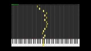 Plug In Baby - Muse (Easy Piano Tutorial) in Synthesia (100% speed)