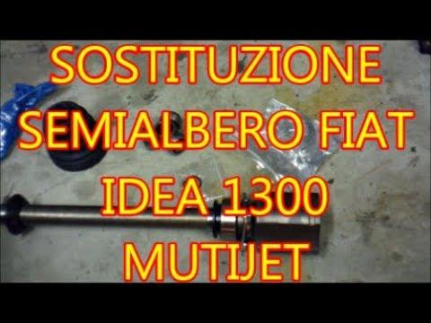 Tutorial semialbero Fiat 1300 Multijet giunto semiasse IDEA