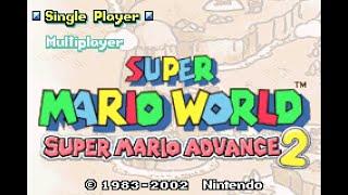 Super Mario World: Super Mario Advance 2 - Part 1: Bowser Strikes Back