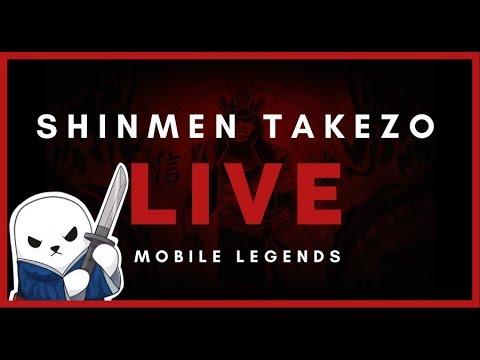 🔴 210+ ⭐TOP GLOBAL FEEDER | Shinmen Takezo Live | Mobile Legends