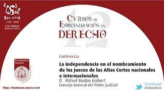 42 CED: La independencia en el nombramiento de los jueces de las Altas Cortes nacionales e int thumbnail