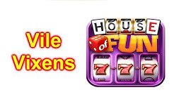 "HOUSE OF FUN Casino Slots Game How To Play ""Vile Vixens"" Cell Phone"