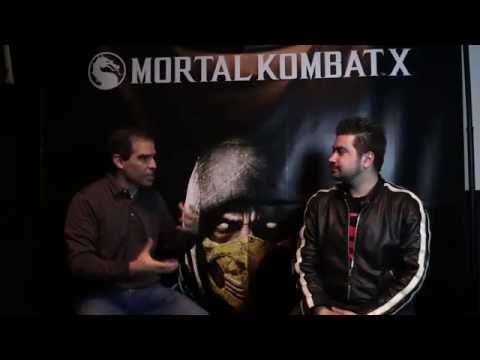 AngryJoe Mortal Kombat X Interview w/ Ed Boon