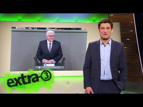 Christian Ehring: Bundespräsident Frank-Walter Steinmeier | extra 3 | NDR