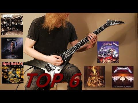 Top 6 E-standard Metal Songs