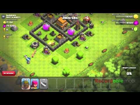 3ème vidéo sur clash of clans, Nouvelle alliance, et ZENORHD !