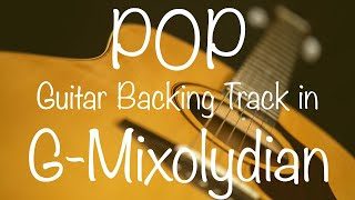 Pop Guitar Backing Track in G Mixolydian