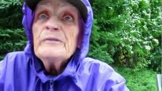 World War 2 Resistance Fighter and Raging Granny Inger Kronseth.