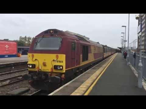 (HD) Great Western Railway loco hauled Rugby Extras   17/18th October 2015