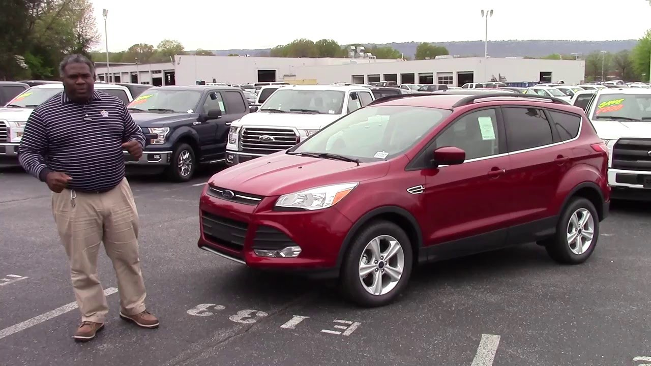 Ford Escape SE Marshal Mize Ford Chattanooga Ford - Chattanooga ford dealers